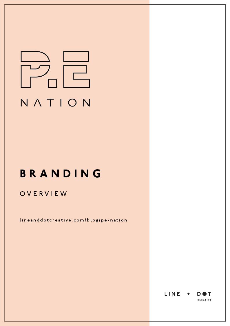 P.E. Nation Line an Dot Creative