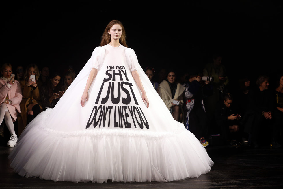 Line and Dot Creative Viktor and Rolf