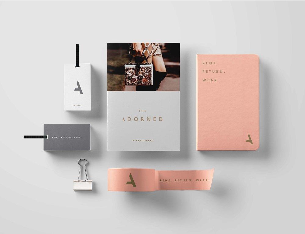 The Adorned Fashion Branding