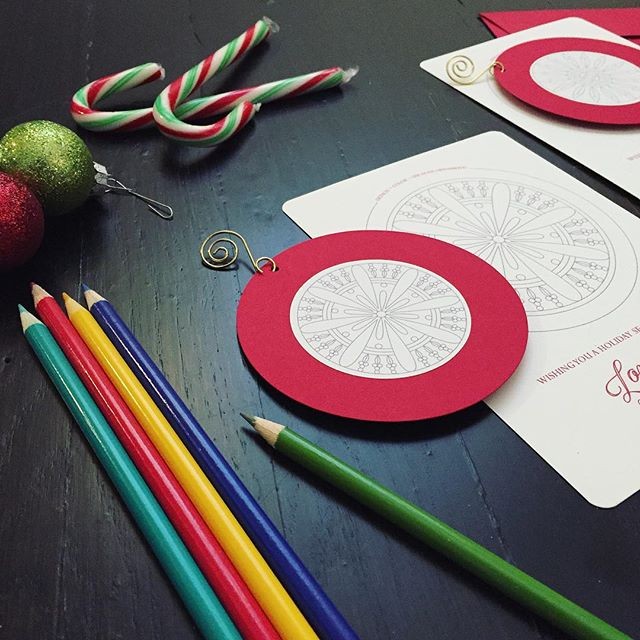 It's beginning to look a lot like Xmas! Stay tuned! 🎄 #sneakpeek #process #design #interactivestationery #coloringcards #oksheila