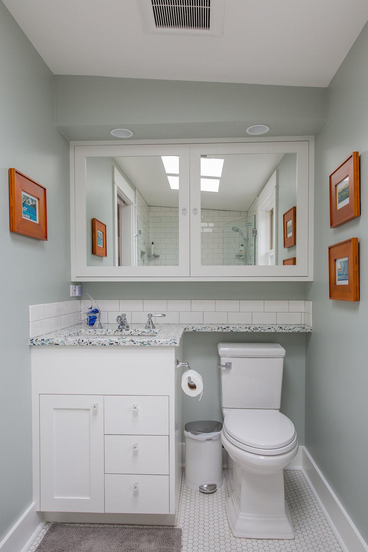 Master suite bathroom architecture
