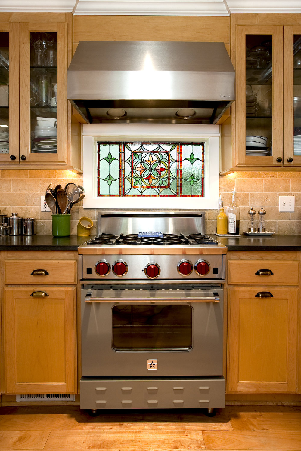 Queen Anne kitchen architecture