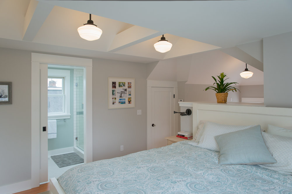 Master suite bedroom architecture