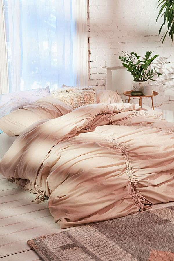 Urban Outfitters Blush Bedding