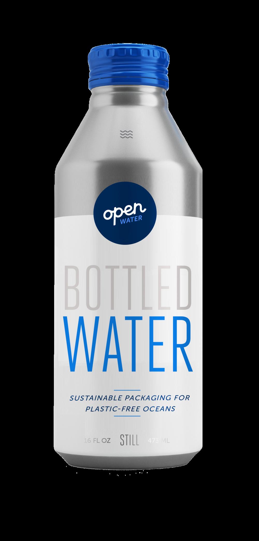 Open Water - Still Bottled Water in aluminum