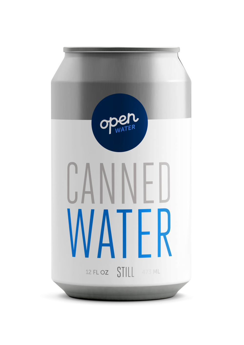 Open Water - Sustainable canned water