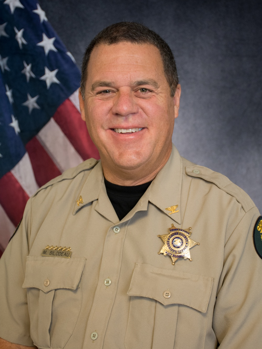 Chief Deputy Matt Bilodeau -