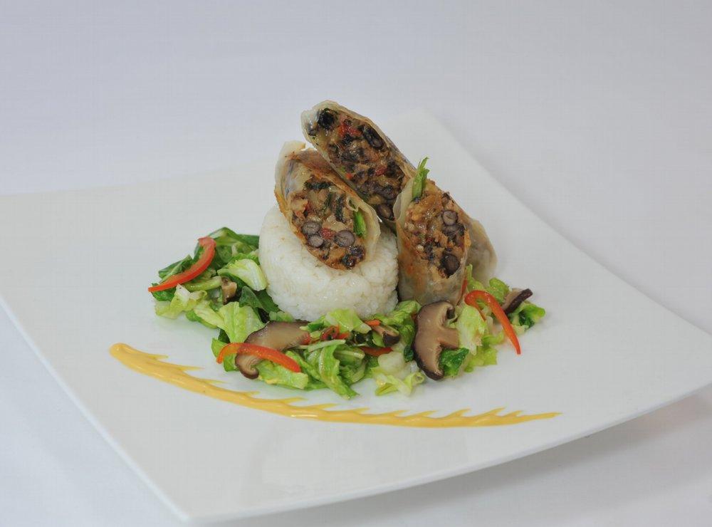 Black Bean Shiitake Mushroom Duxelle -