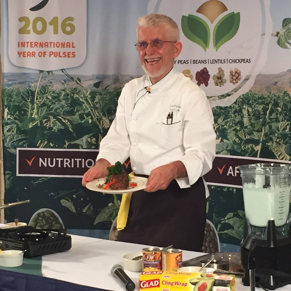 Chef Ron at Western Pulse Convention