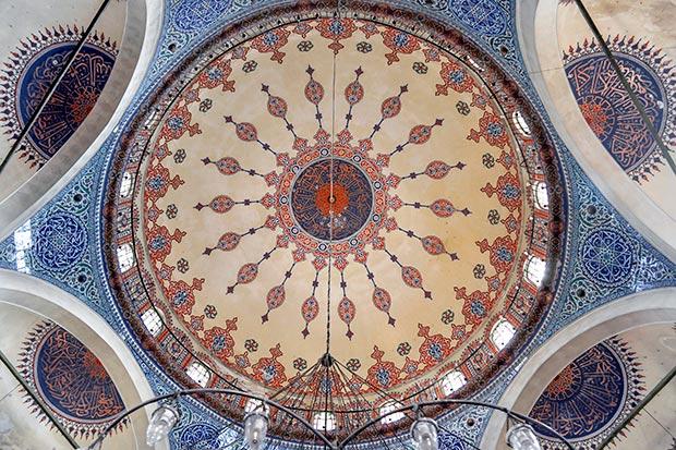 The Sokollu Mehmet Pasha Mosque, dome / Photo © Islamic Arts Magazine