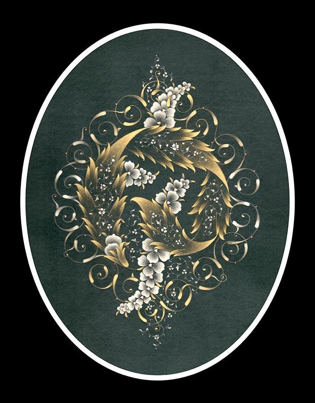 Lutfiye Depeler, Serbest tasarim: 32-40 cm, fine gold and white gold, 2011 / Courtesy of the Artist