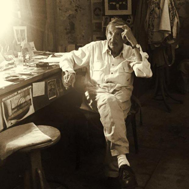 Franco Renzulli, a veteran Venetian painter / Courtesy of Made In..Gallery