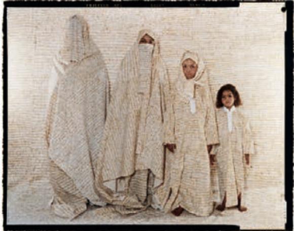 LaLLa Essaydi CONVERGING TERRITORIES #30, 2004