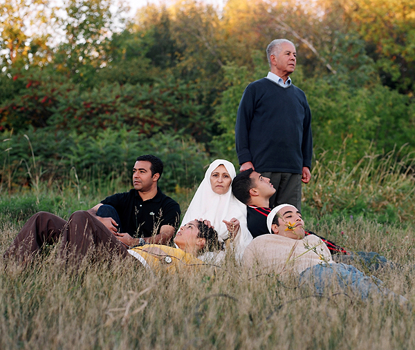 Arwa Abouon, 'Abouon Family', 2004, Digital Print, 50 x 40cm. Image courtesy of the Artist.