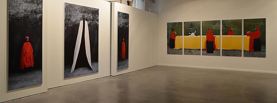 Exhibition Review: 'The Mystic Black Body', Photographs by Maïmouna Guerresi    ISLAMIC ARTS MAGAZINE, 2013.