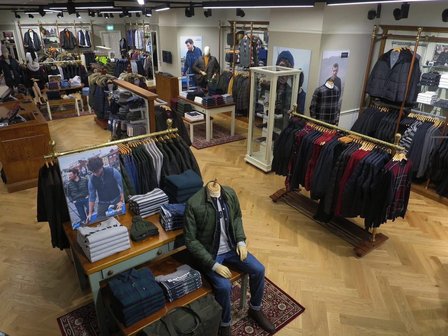 3e5824132 The Bullring Estate welcomes Birmingham's dedicated Barbour store — AVER