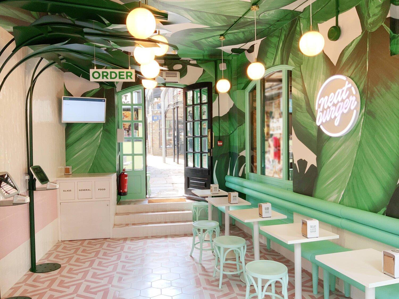 Neat Burger Opens Second London Dine In Restaurant At Camden Market Aver