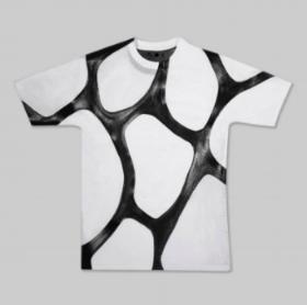 Camiseta desenvolvida para exposição no MoMA usando o ZOA, produto criado pela Modern Meadow.  Foto: wellmadeclothes.com