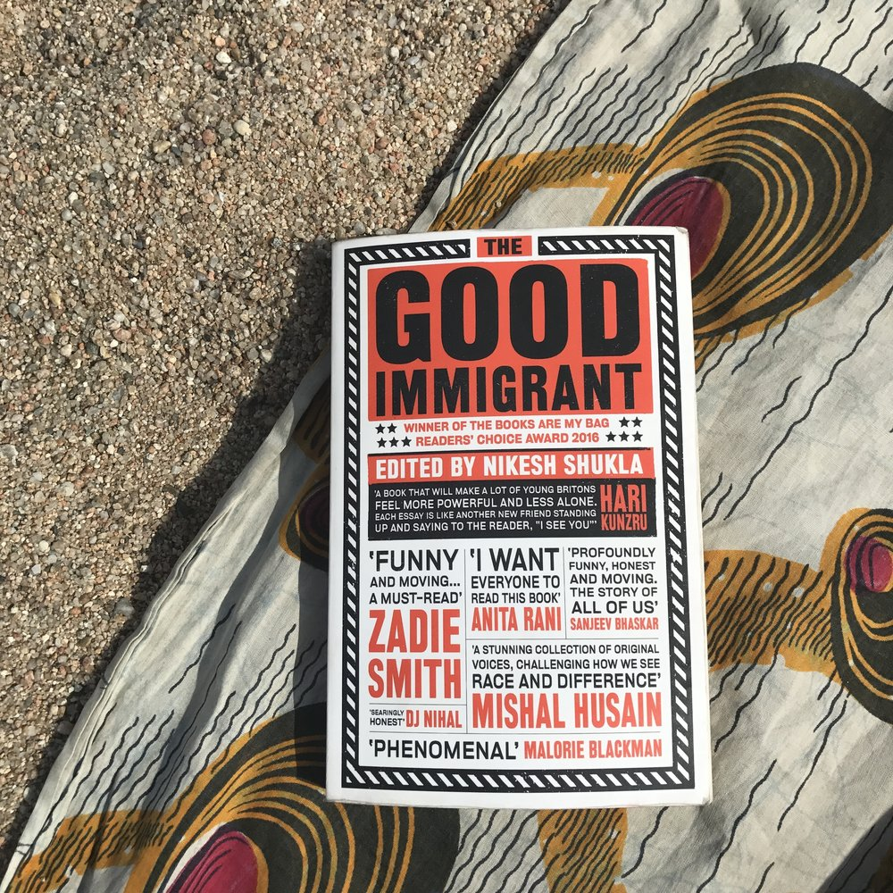 Image: The Good Immigrant featuring an essay by Musa Okwonga, photo by Amelia Ideh