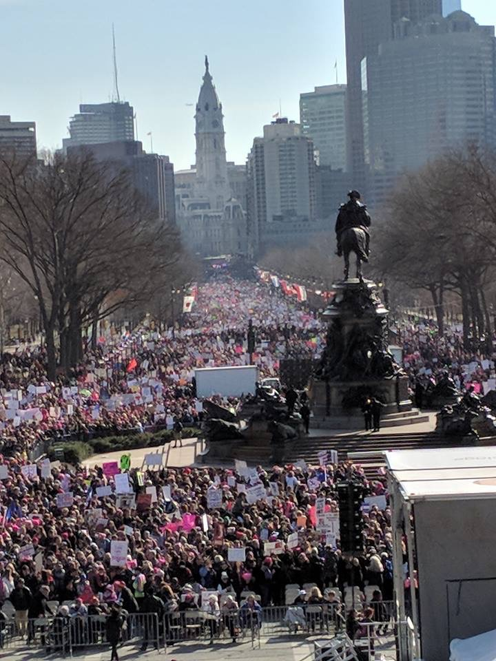 2018 Philadelphia Woman's March