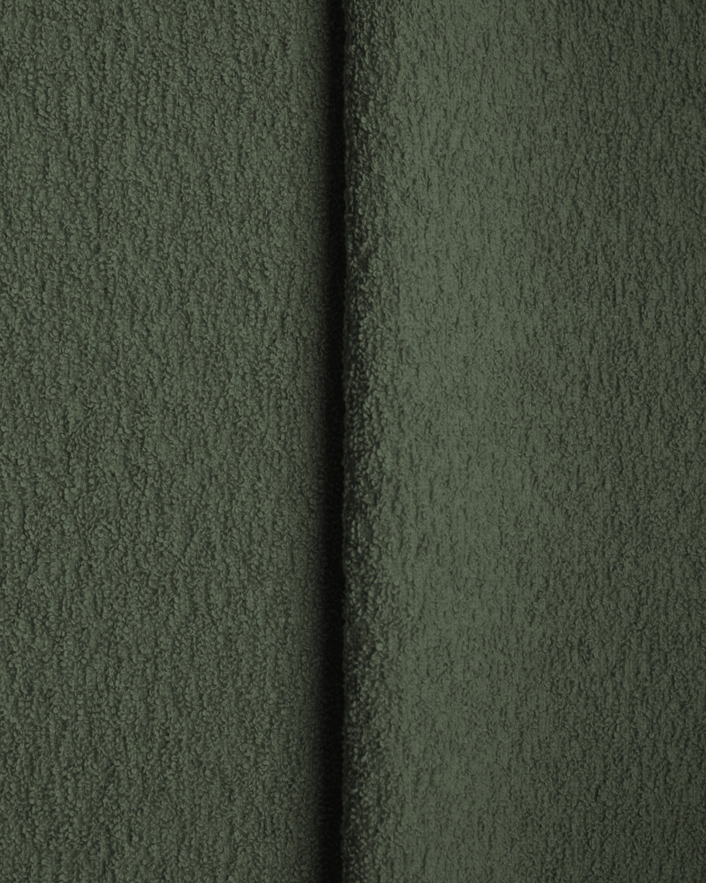 Cotton Boucle - Green