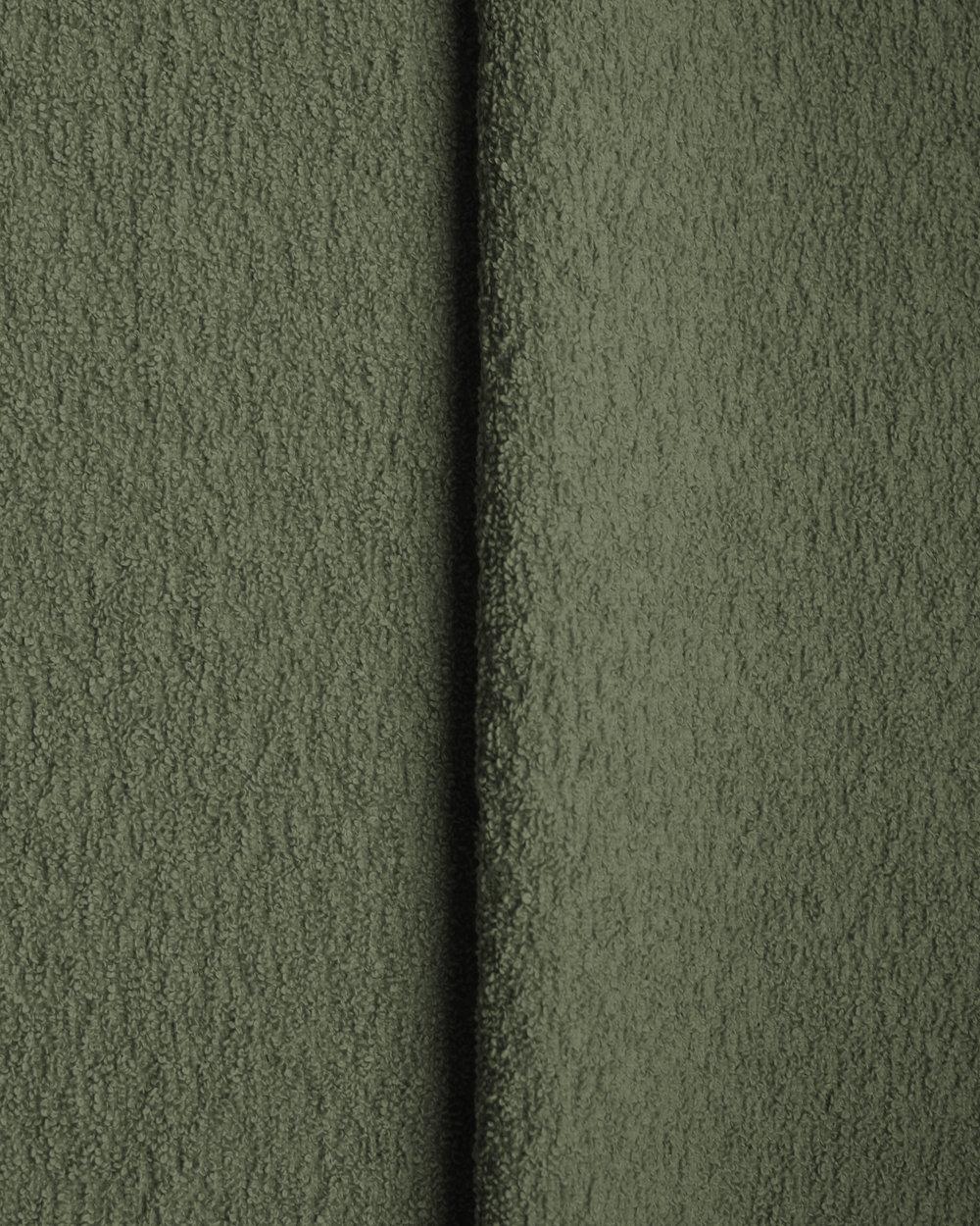 Cotton Boucle - Moss