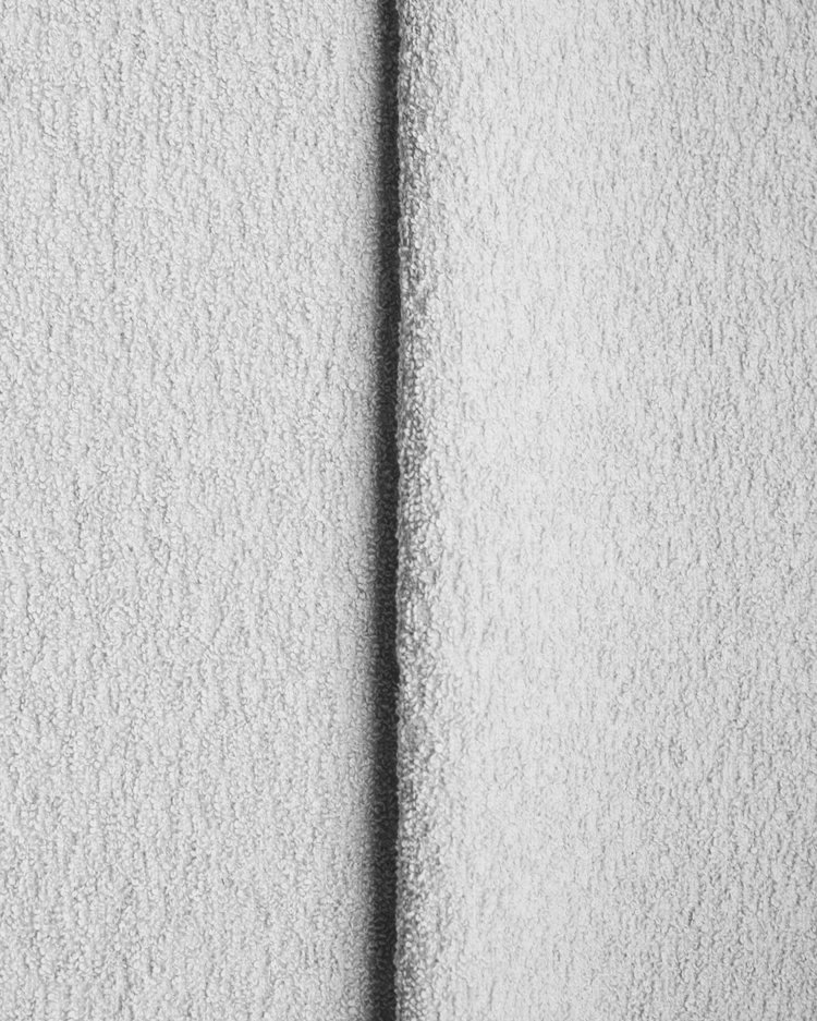 Cotton Boucle - White