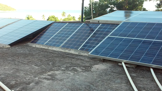 Solar Panels for needed power