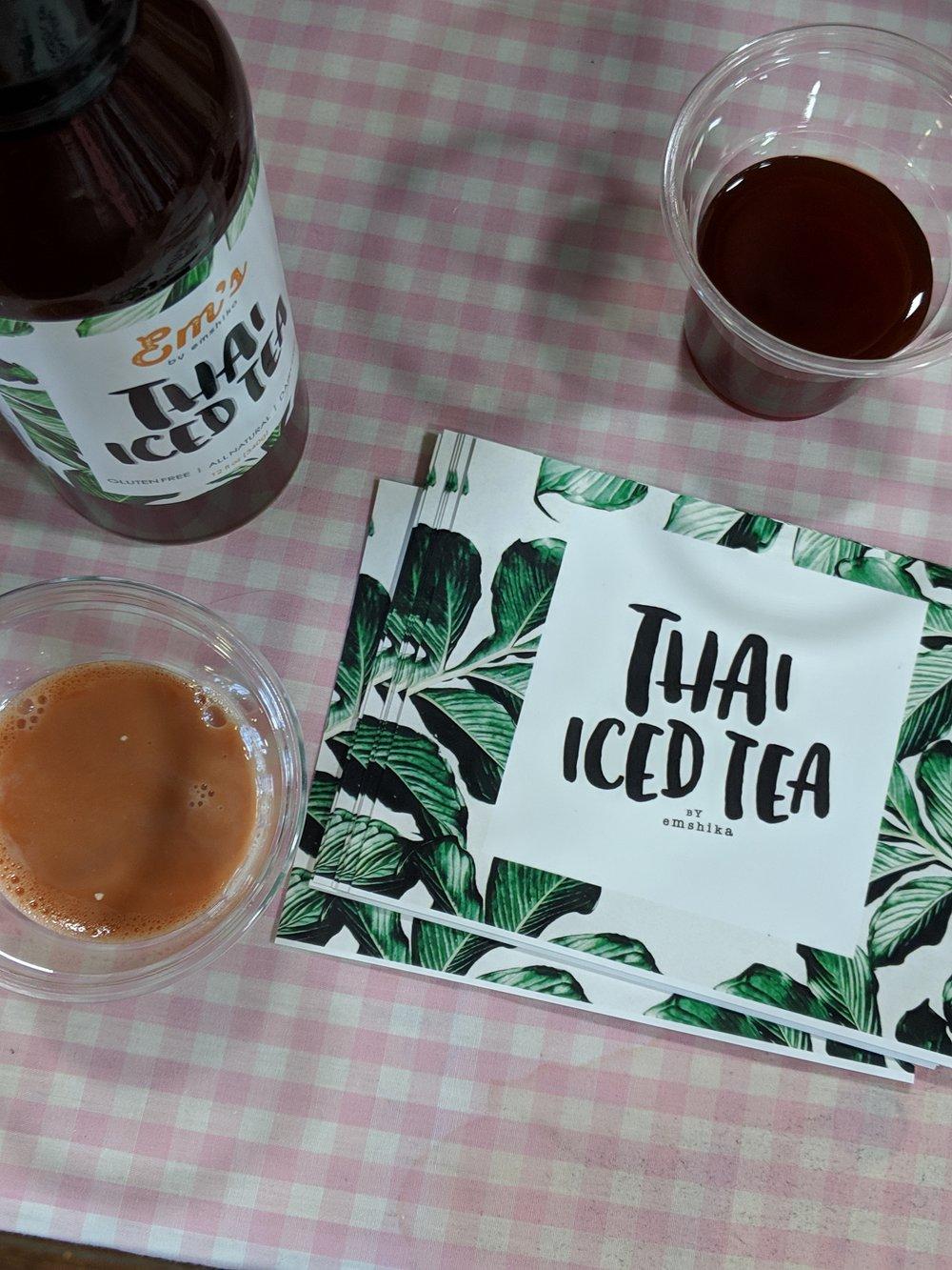 All Natural Emshika's Thai Iced Tea