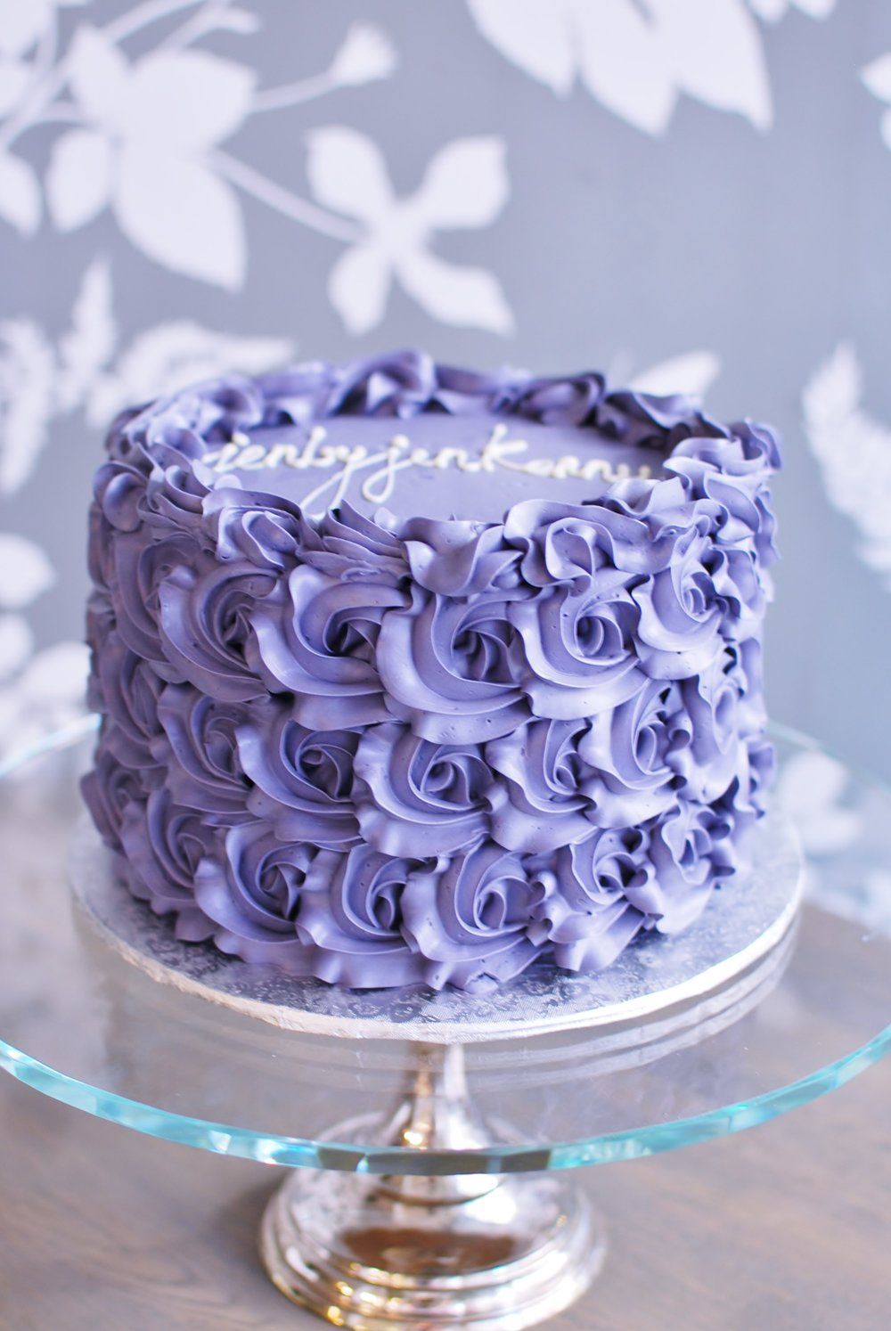 PURPLE ROSETTES