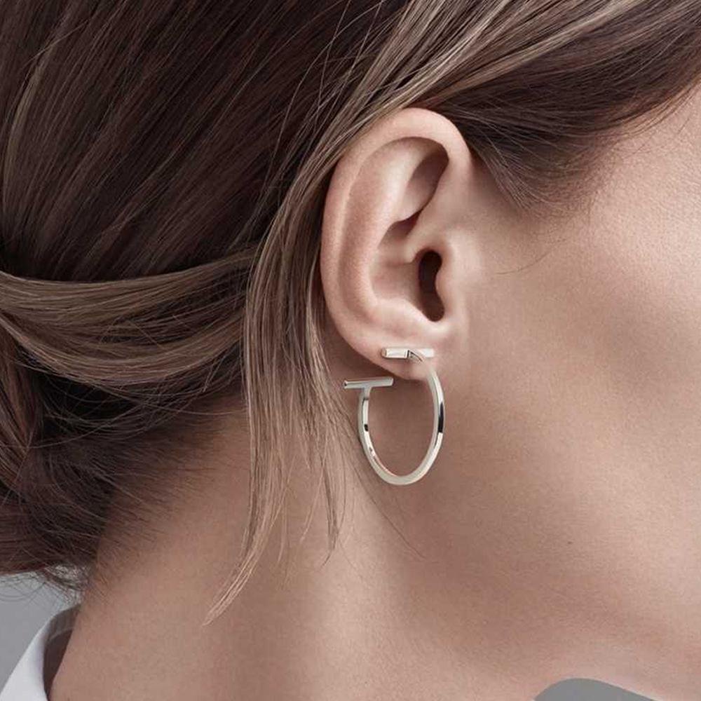 Wire Hoop Earrings by Tiffany & Co.