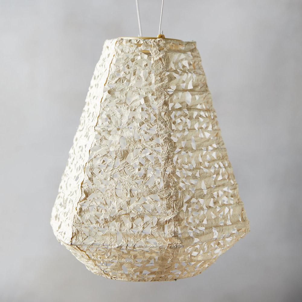 Mosaic Petal Solar Lantern $38