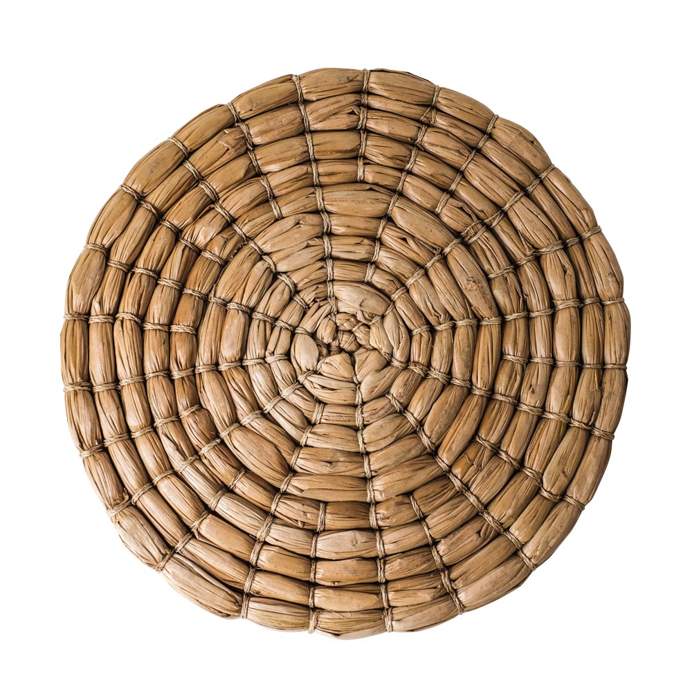 Round Seagrass Natural Place Mats $16