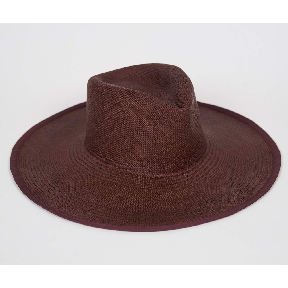 PINCH PANAMA HAT IN SCARLET $ 254