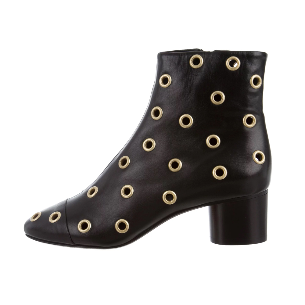 ISABEL MARANT DANAY GROMMET ANKLE BOOT $295