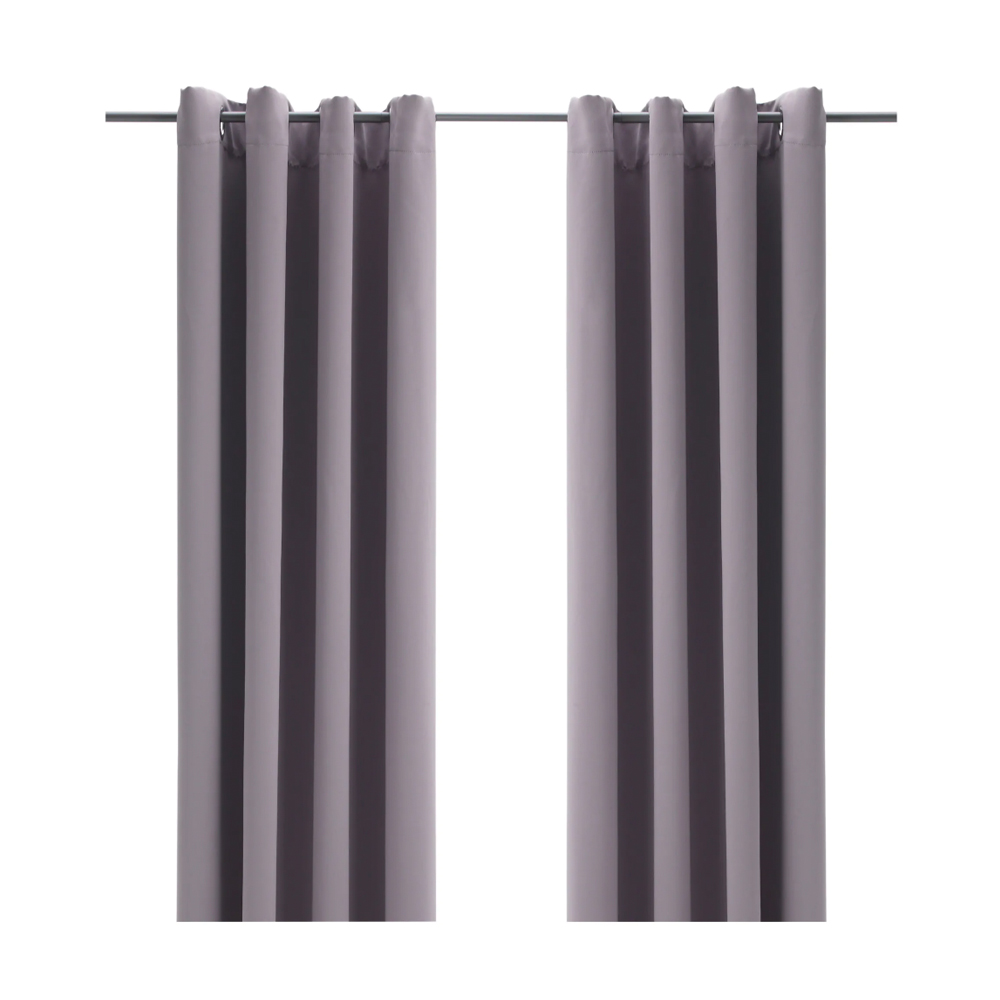 BOLLOLVON Blackout curtains, 1 pair $14.99