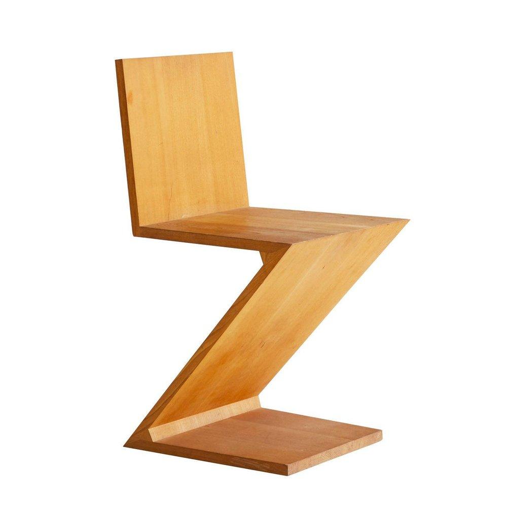 Gerrit Rietveld Zig-Zag Chair $2900
