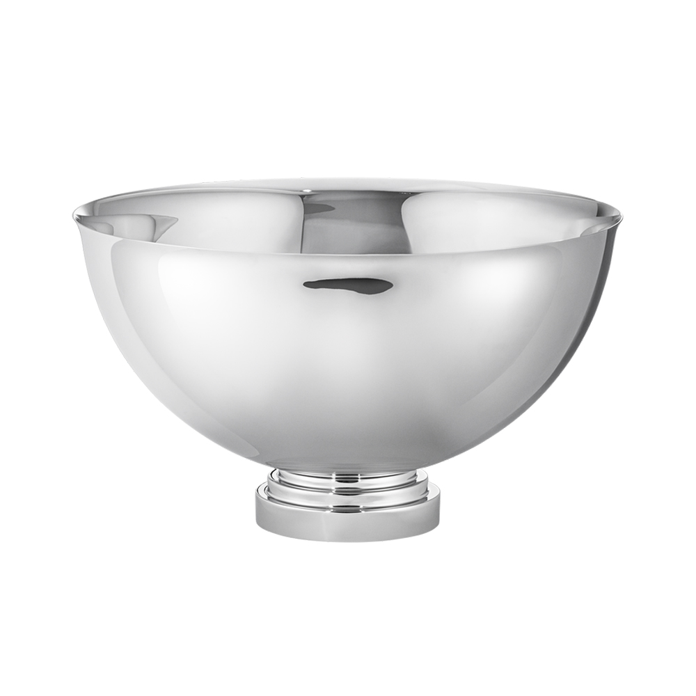 MANHATTAN CHAMPAGNE BOWL - STAINLESS STEEL $425