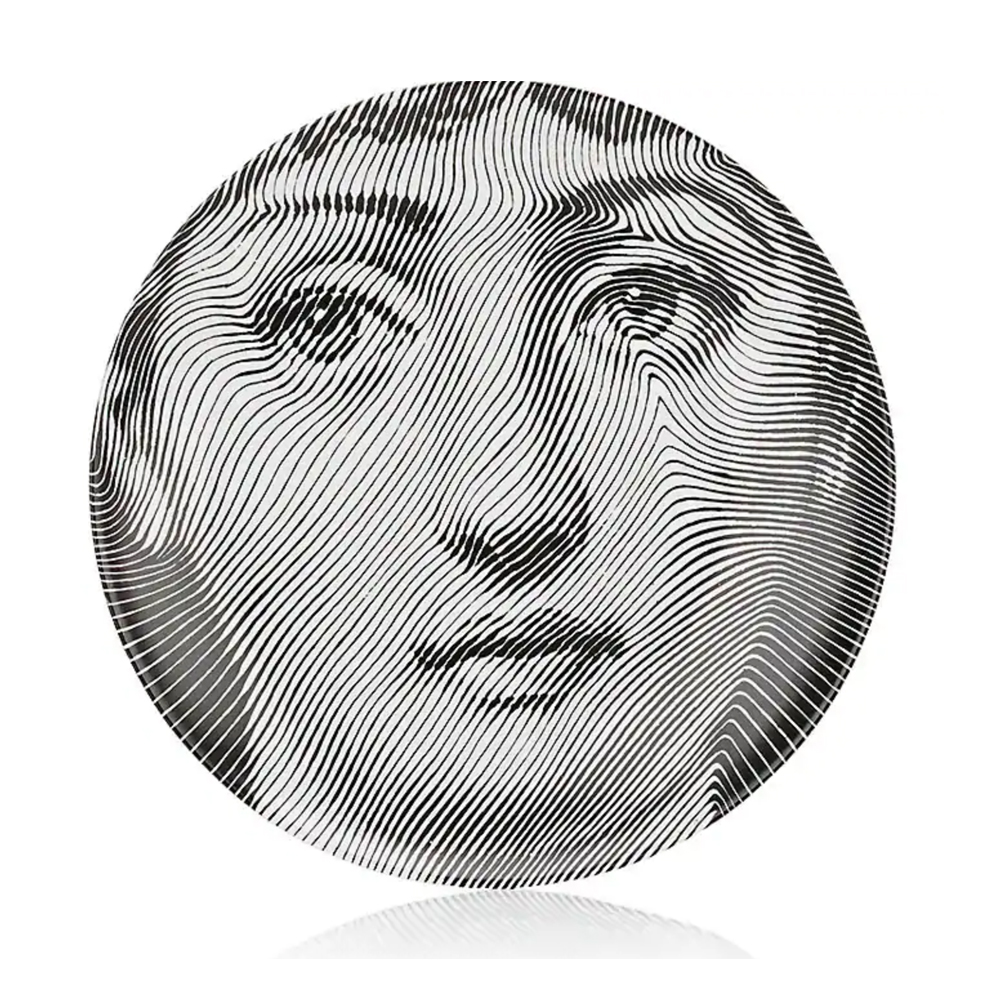 FORNASETTI Theme & Variations Plate No. 270 $185