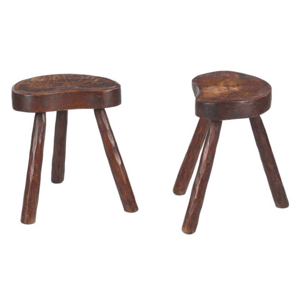 Pair of French Country Ashwood Stools $1,195