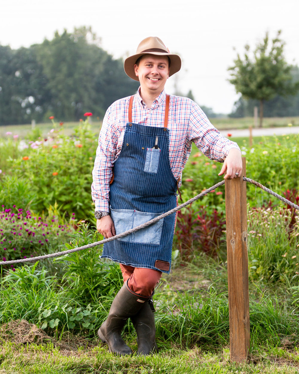 """""""Chefs like to be impulsive and last-minute, but when you've got to grab your ingredients out of the garden, you've got to think a little bit further out."""" -"""