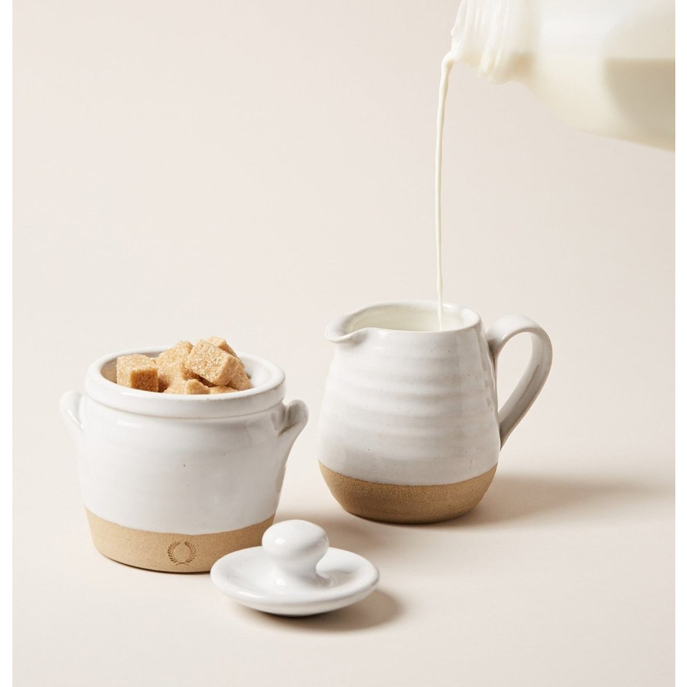 FARMER'S SUGAR AND CREAMER SET $135