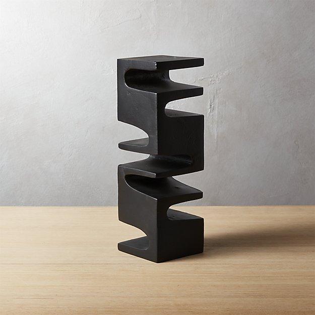 Esher Pillar Sculpture by CB2 $59.95