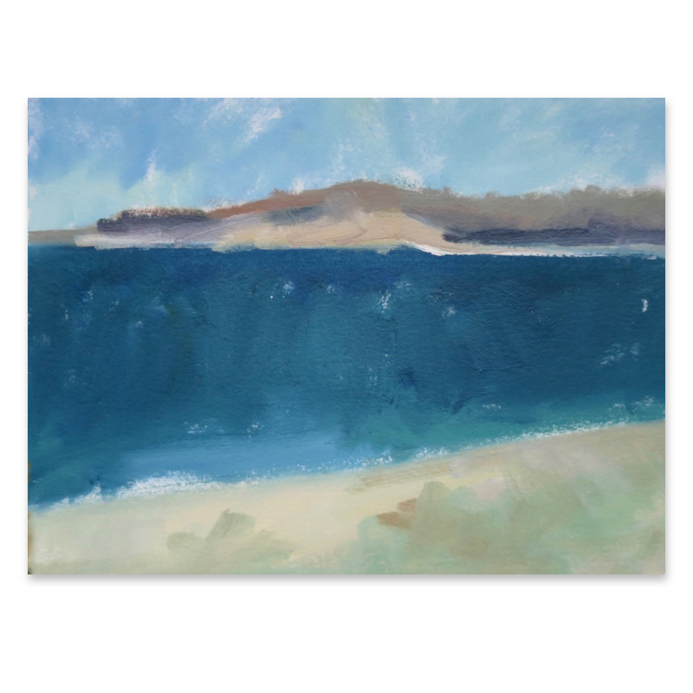 Long Island Sound - Calm Water  BY MARIE FREUDENBERGER from $50