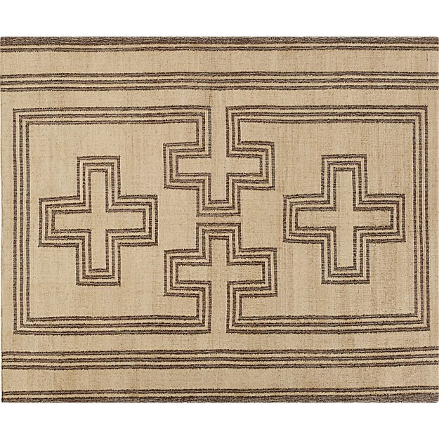 Scale Natural Jute Rug 8'x10'