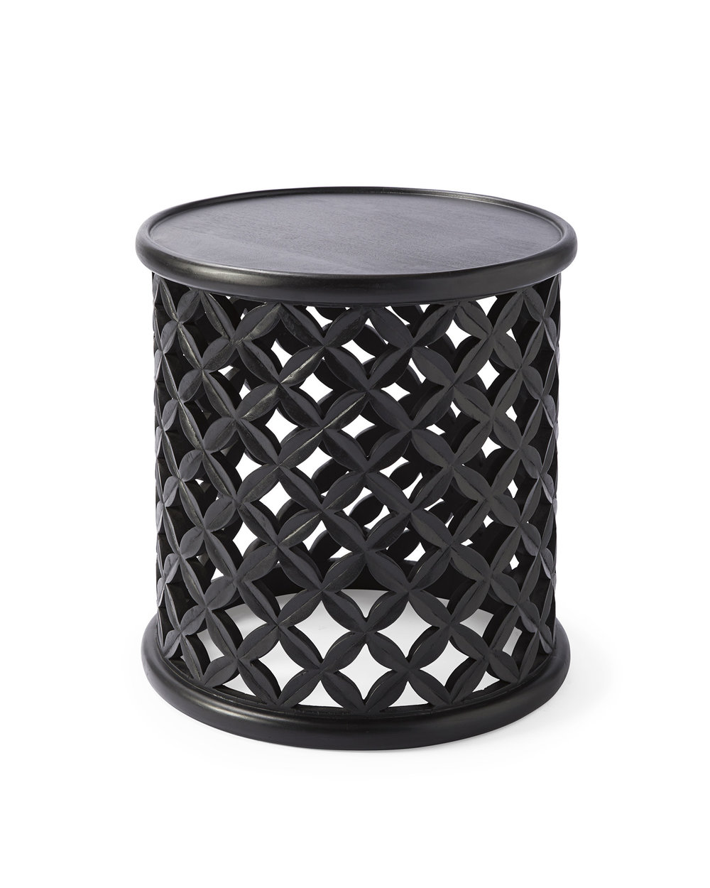 Bamileke Side Table - Ebony $198