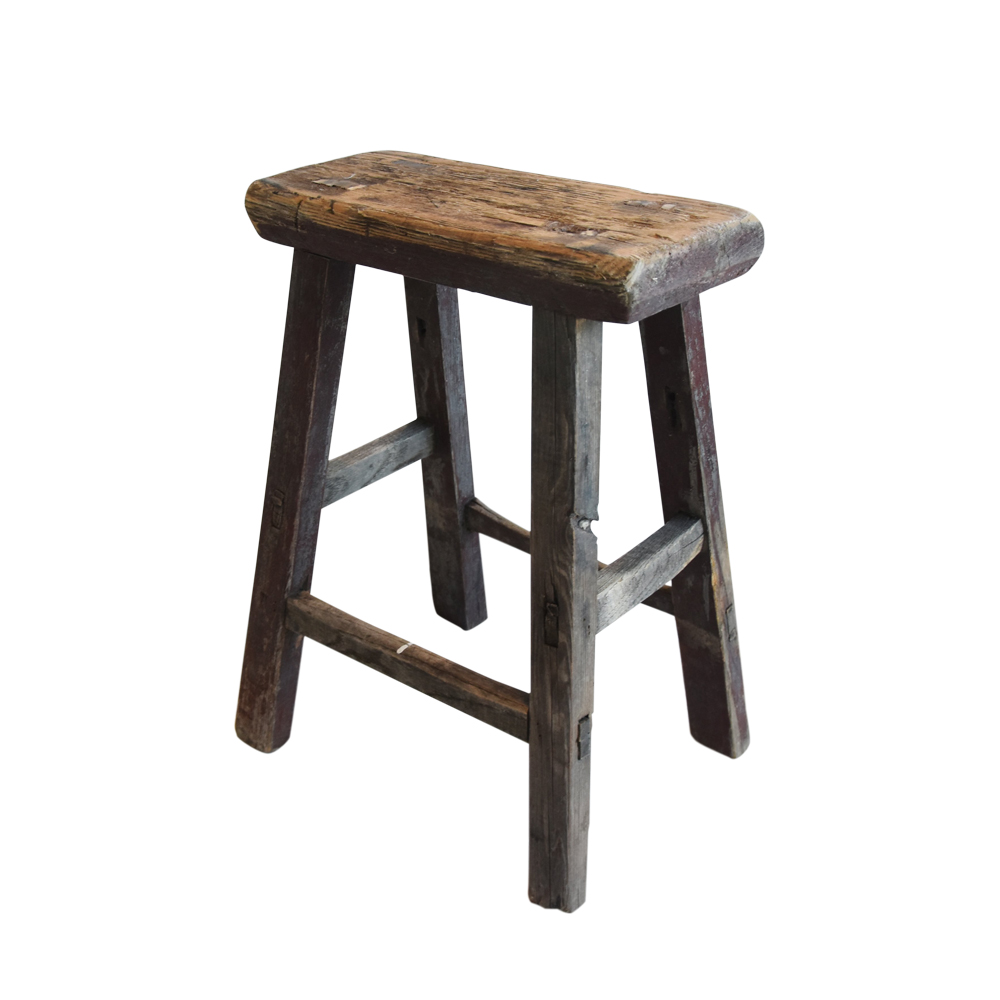 Rustic Primitive Country Wood Farmhouse Stool $249