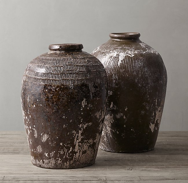 RICE WINE VESSEL - BROWN $195