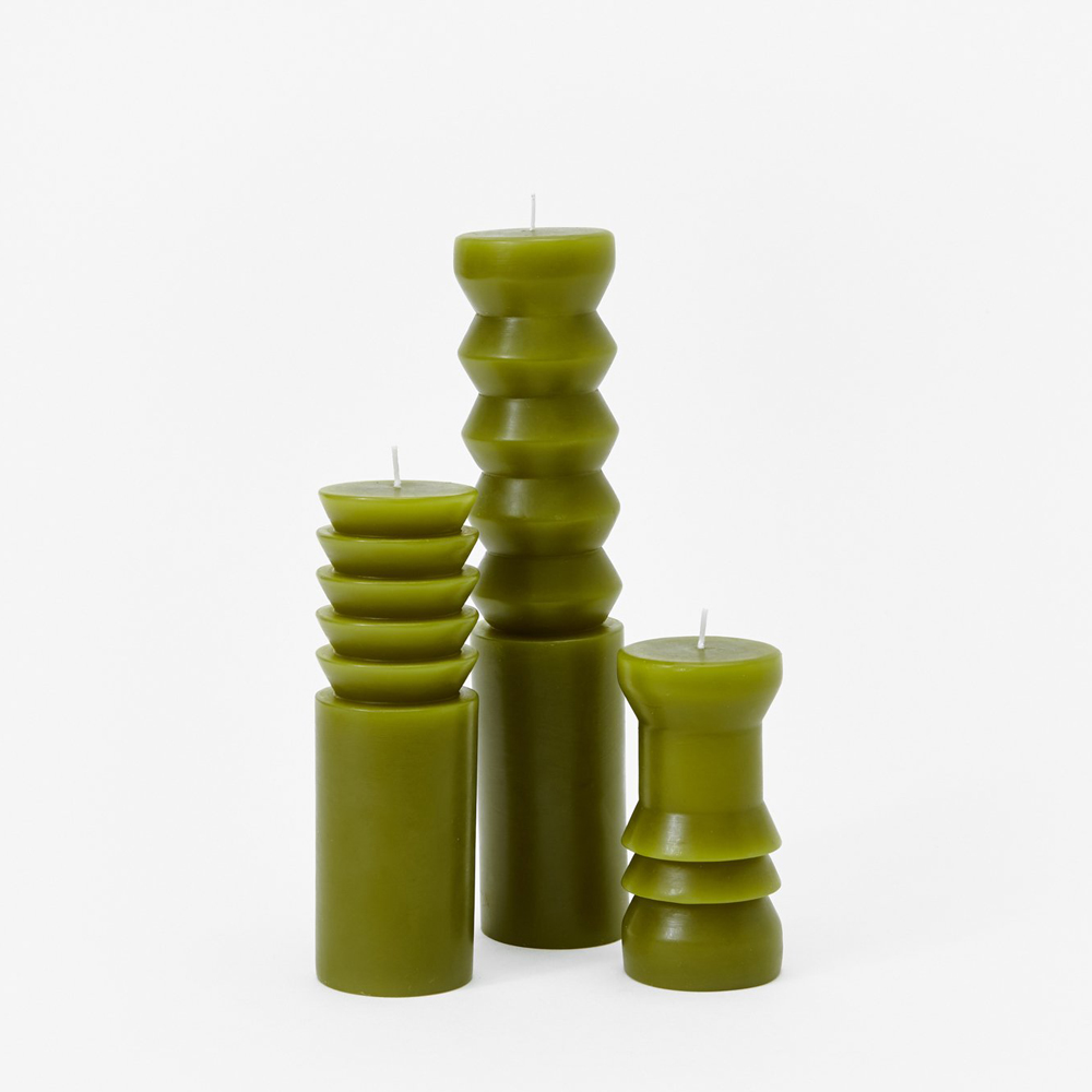 Totem Candles - Moss from $12