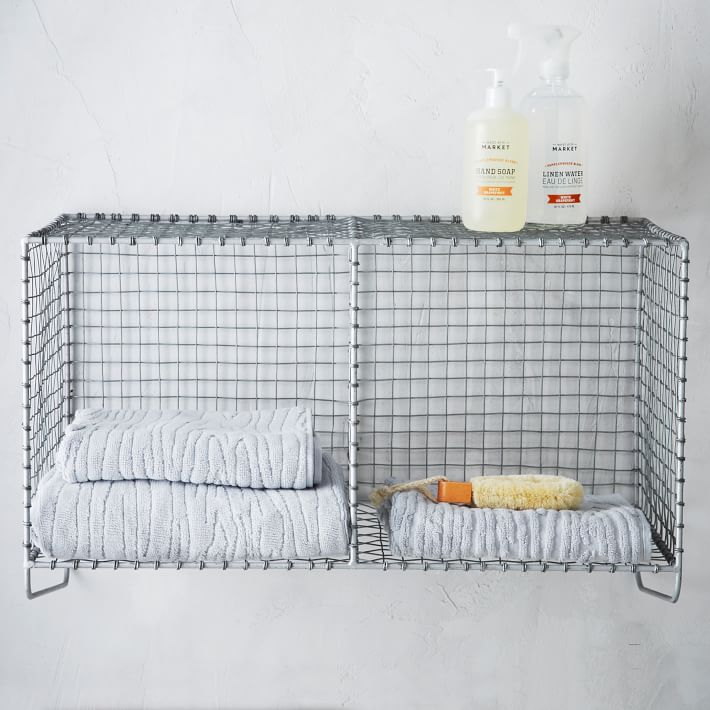 Wire Mesh Storage - Hanging Double Shelf $99